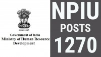 NPIU Recruitment 2017 Apply Online (Assistant Professor 1270 Vacancies)